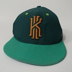 Nike Kyrie Irving Limited Ed. Green Gold Cap Hat